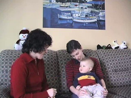 Vidéo : Comportements d'attachement à 4 et 9 mois
