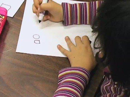 Vidéo : Calligraphie à 5 et 6 ans